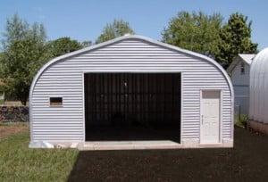 quonset storage building