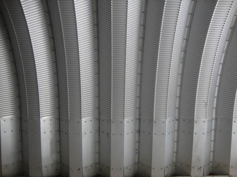 quonset wall