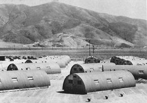 Quonset Huts during WWI