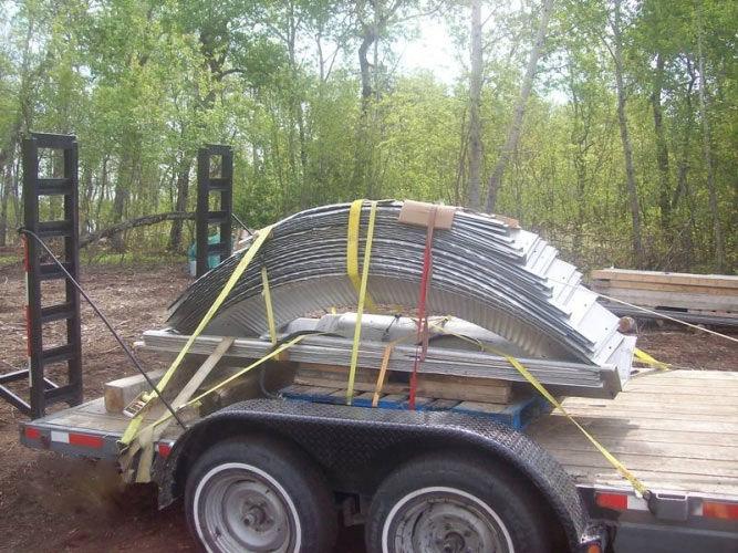 quonset building kit