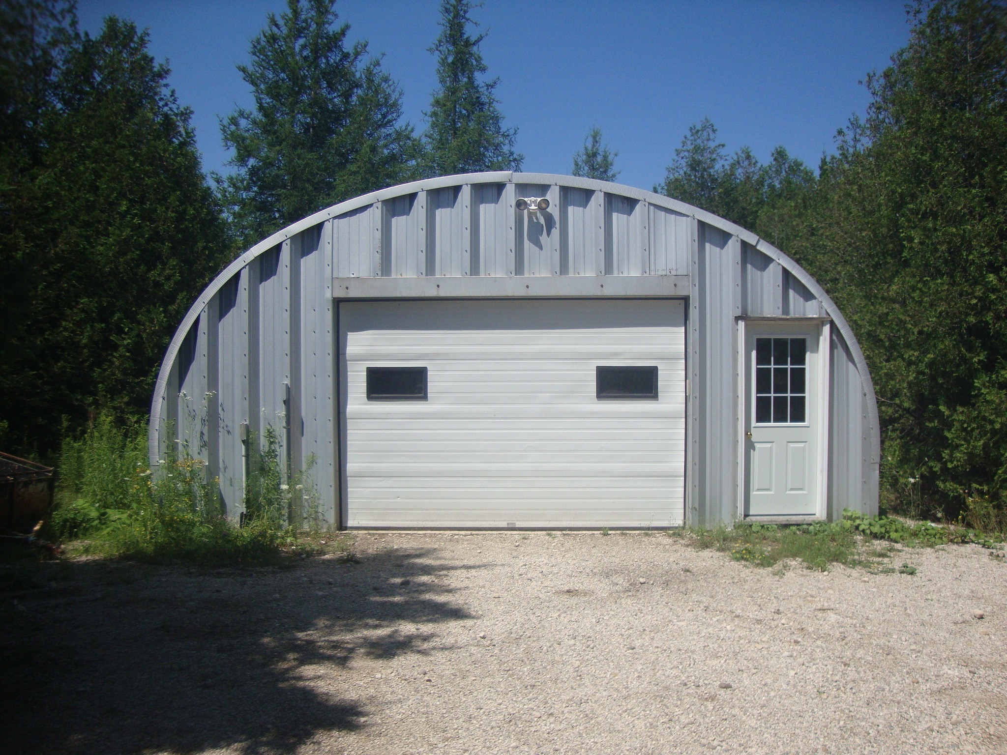Garage Kits Canada : Cheap garage kits dont have to be low quality quonset canada