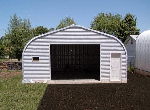 quonset shed garage