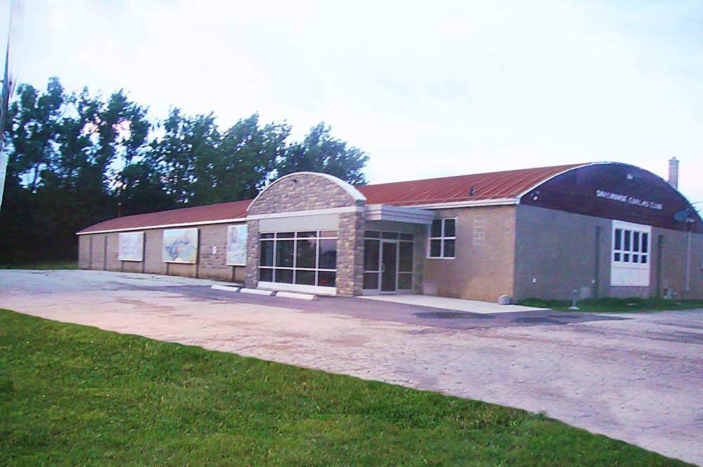 commercial quonset building