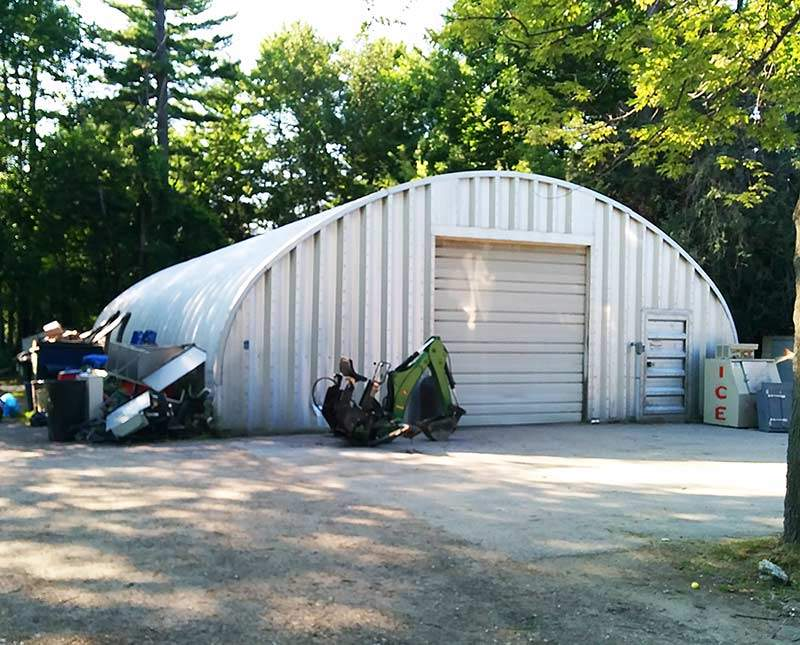 storage quonset garage